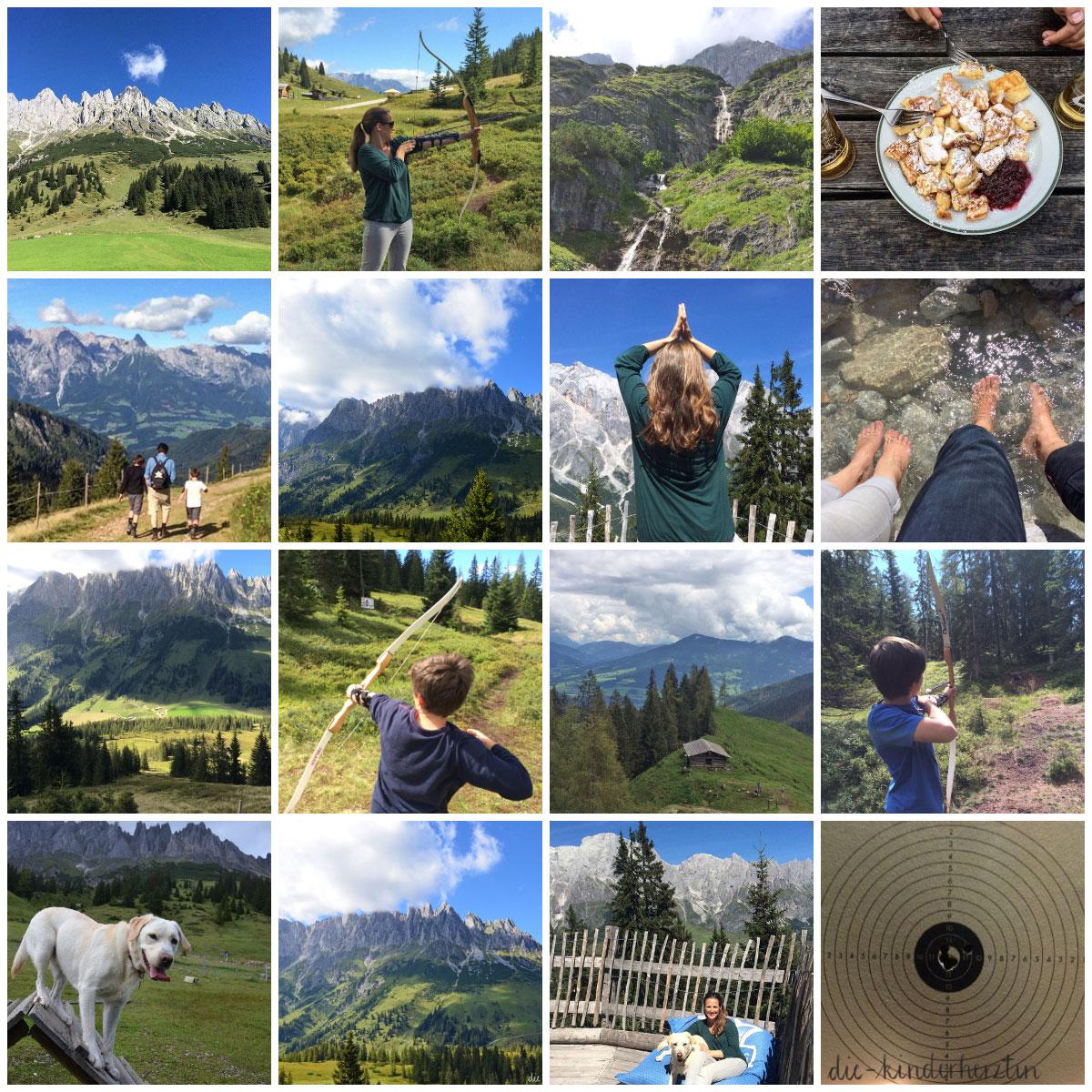 Arthurhaus Fernweh Reisen Österreich Collage Freizeitmöglichkeiten