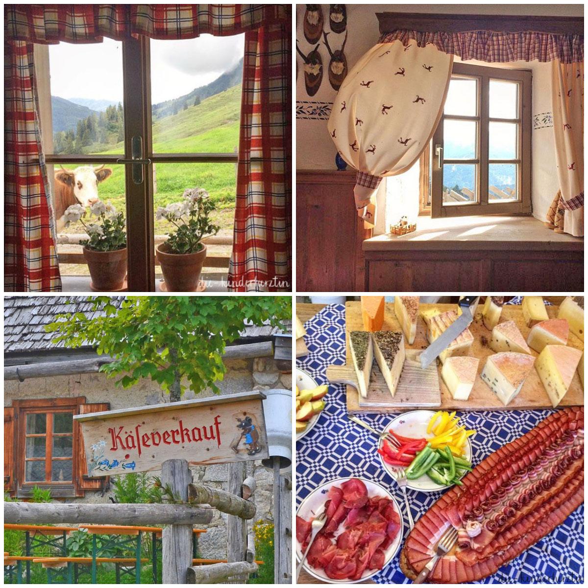 Arthurhaus Ferneh Reisen Österreich Käse in der Sennerei