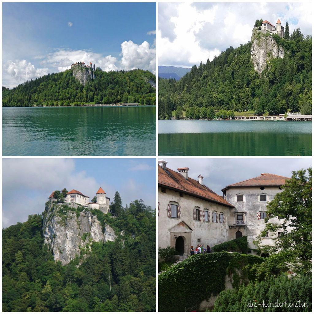 Bled Fernweh Reisen mit Kindern Slowenien Bleder See Burg Bled