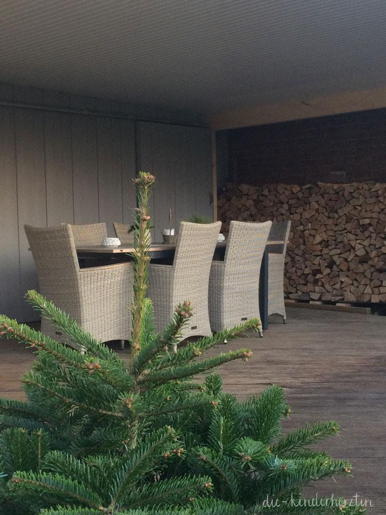 überdachte Terrasse im Winter die-kinderherztin baut um