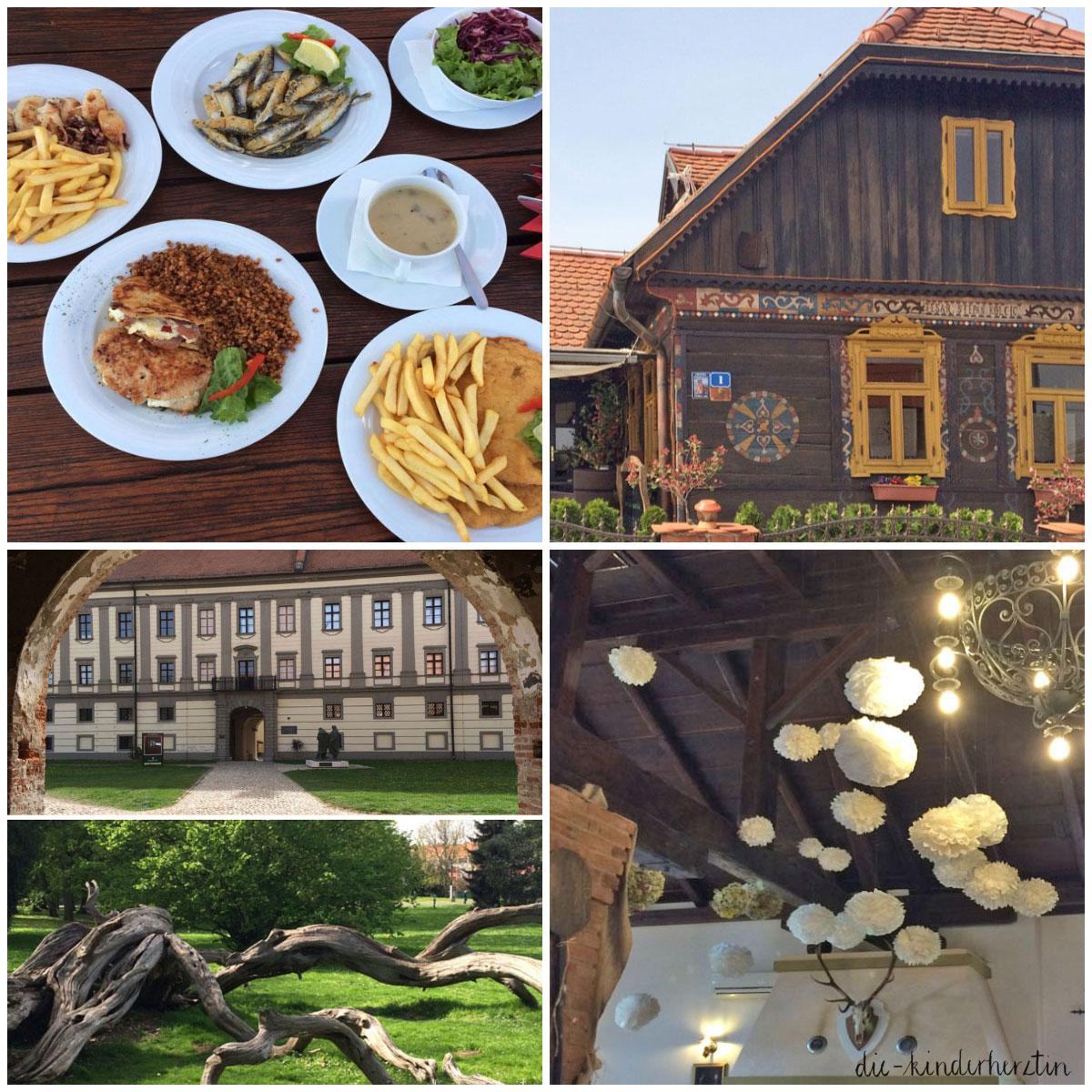 Das Haus auf Klaras Hügel Restaurant und Ausflugstipps