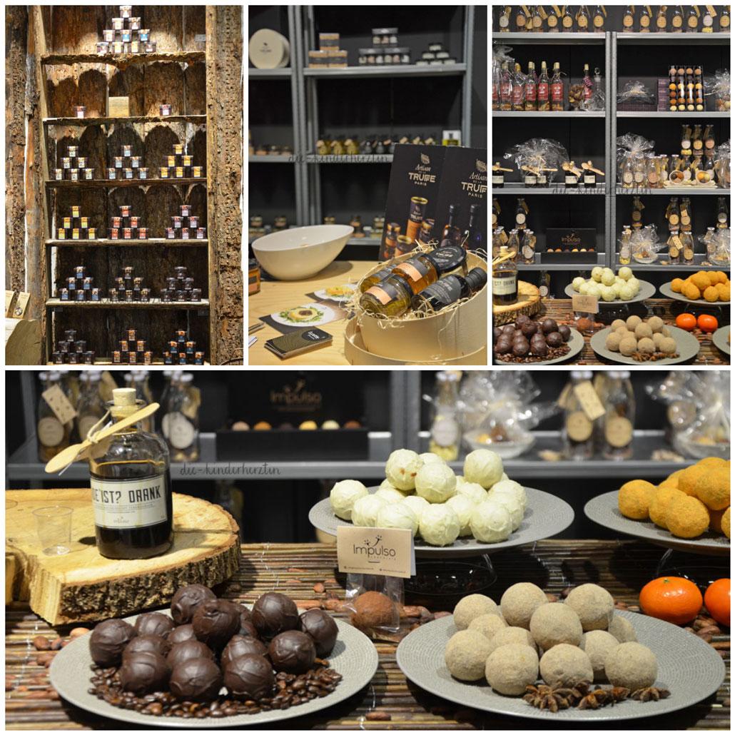Formland 2018 Schokolade und Pesto am Stand von Impulso Chocolate und Artisan de la Truffee