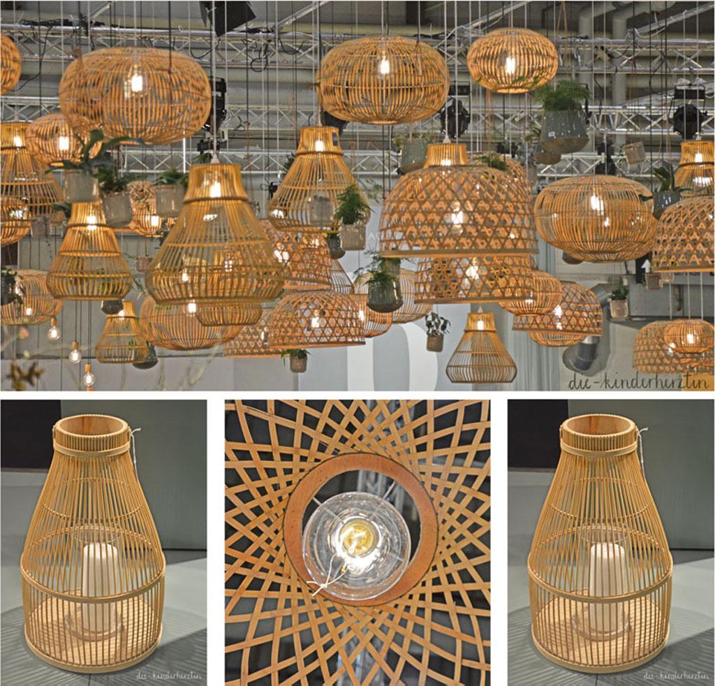 Formland 2018 Trend Körbe in verschiedenen Varianten Lampen und Windlichter