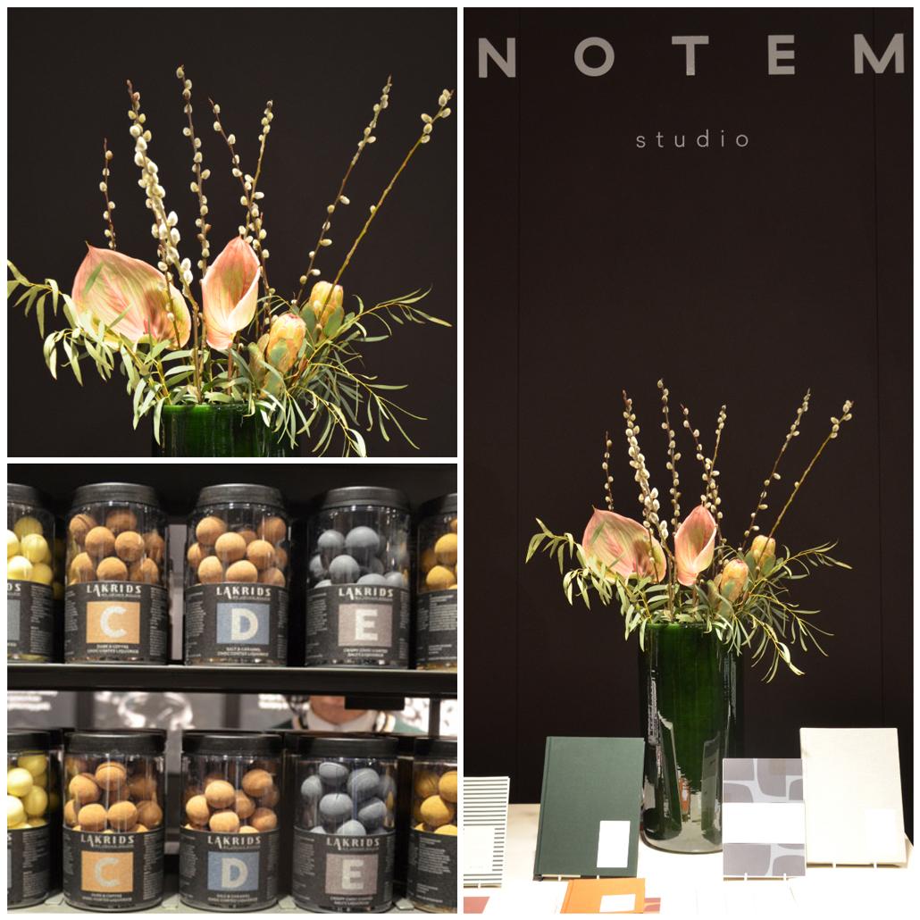 Formland 2018 Lakrids von J Bülow und Papeterie von Notem Studio