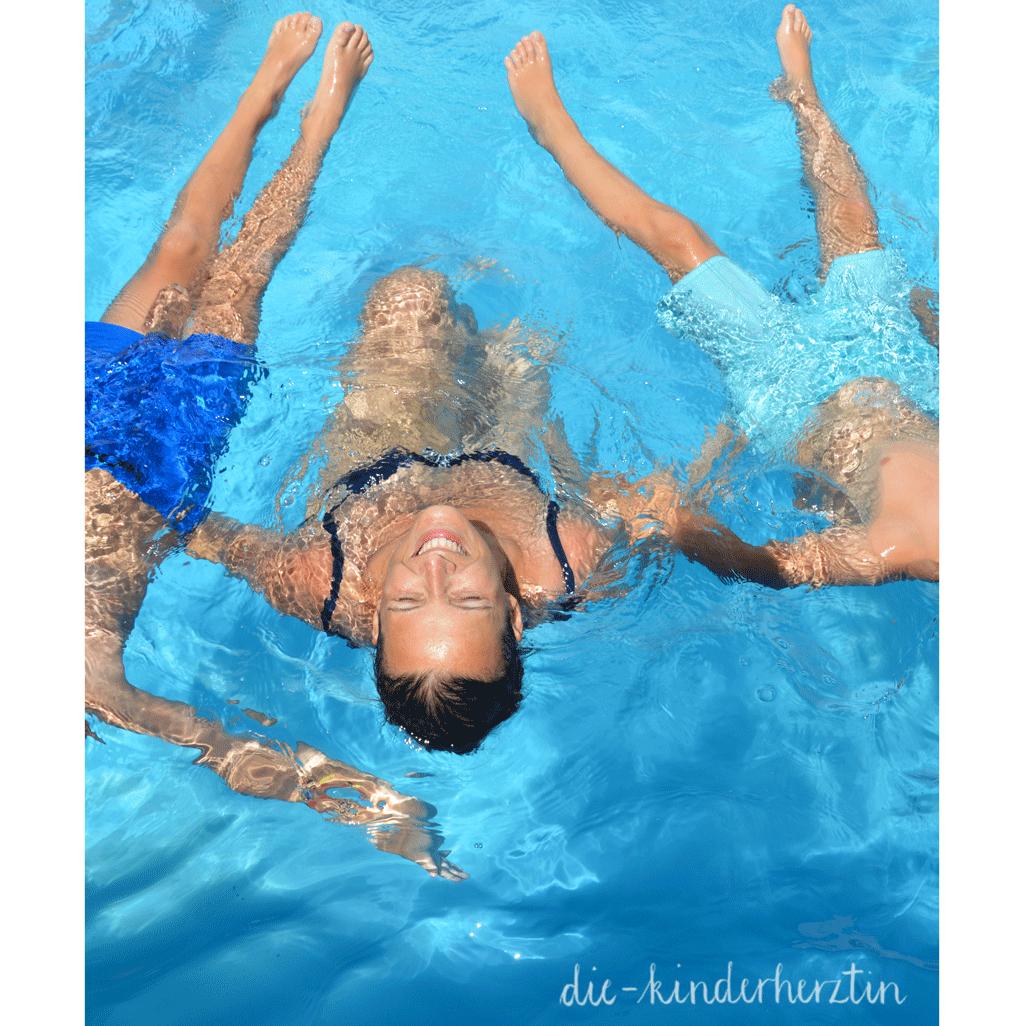 Kroatien Badespaß im Pool
