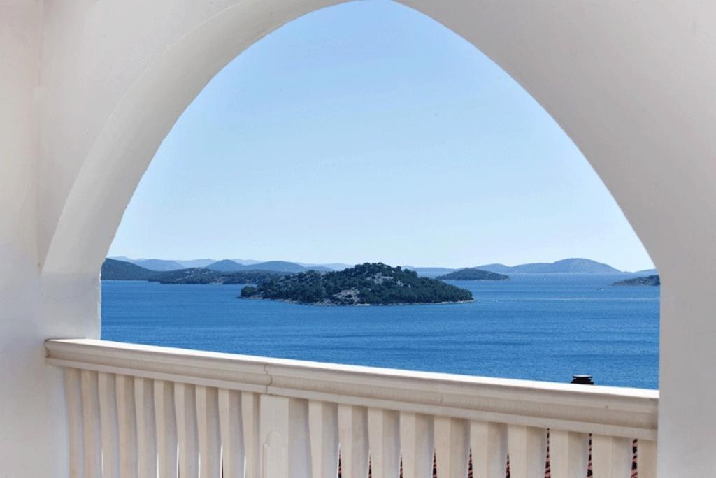 Kroatien Ferienhaus mit Meerblick