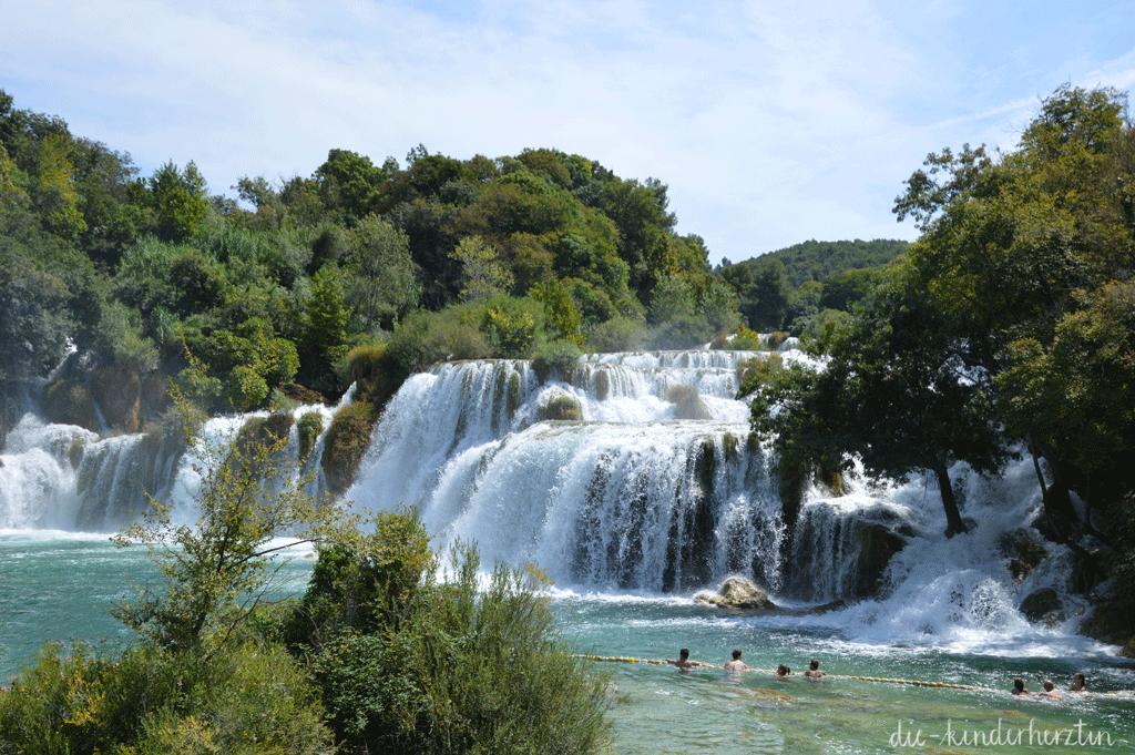 Kroatien Krka Wasserfälle