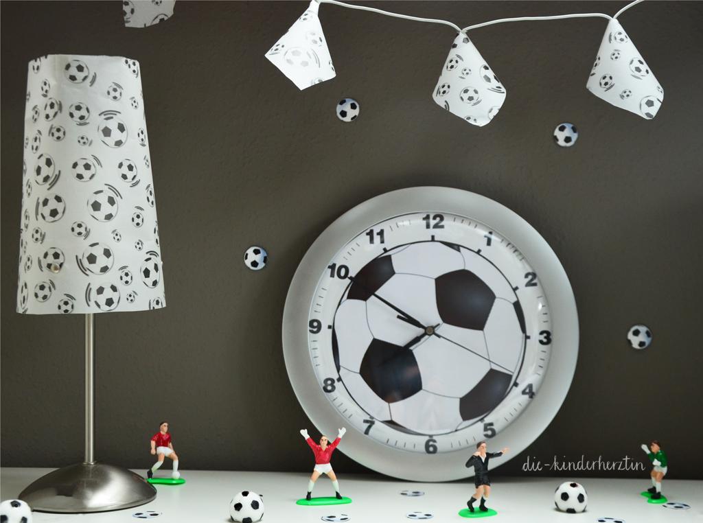 Fußball-Lichterkette und andere Fußball Deko